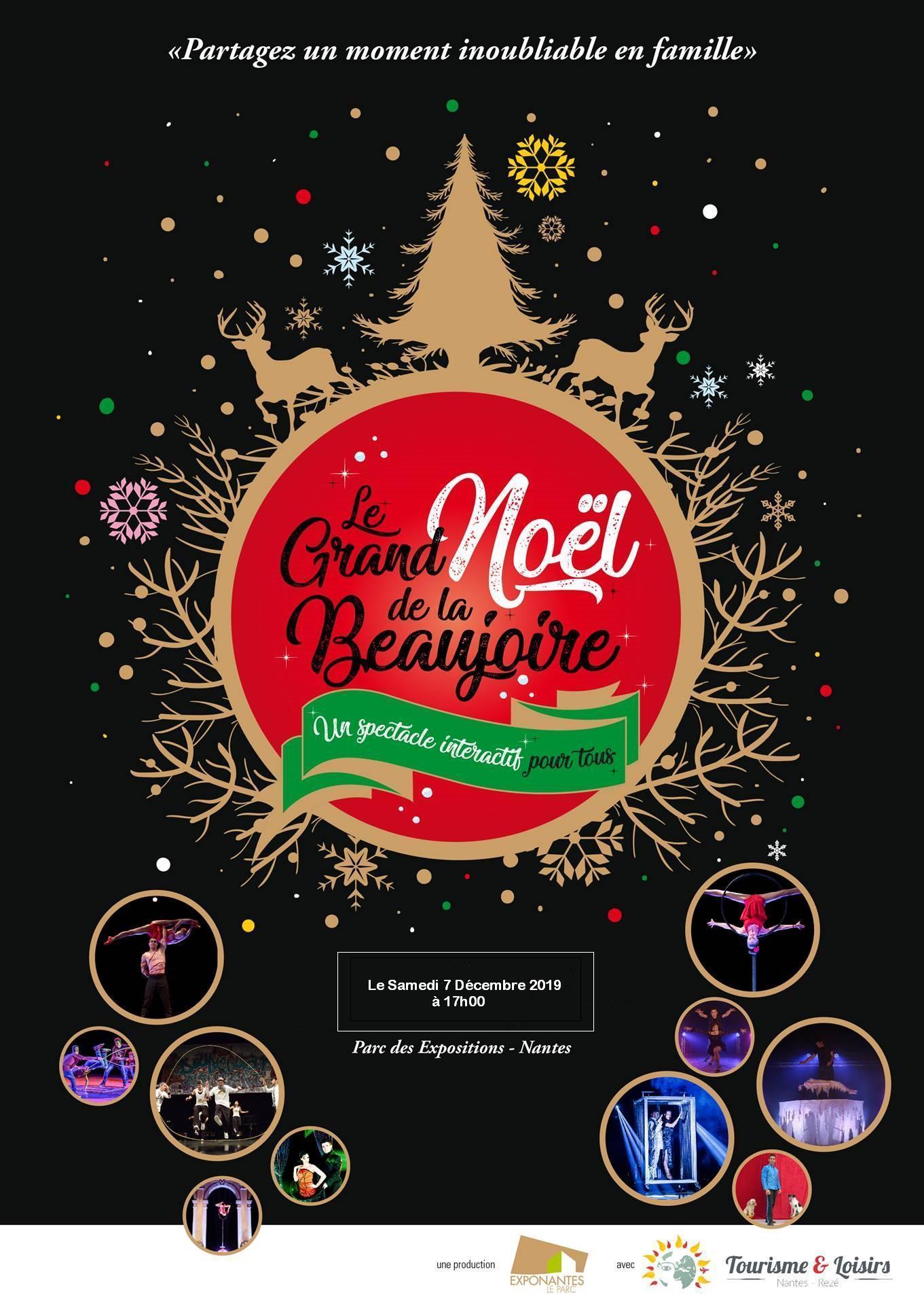 Spectacle de Noël «LE GRAND NOEL DE LA BEAUJOIRE»