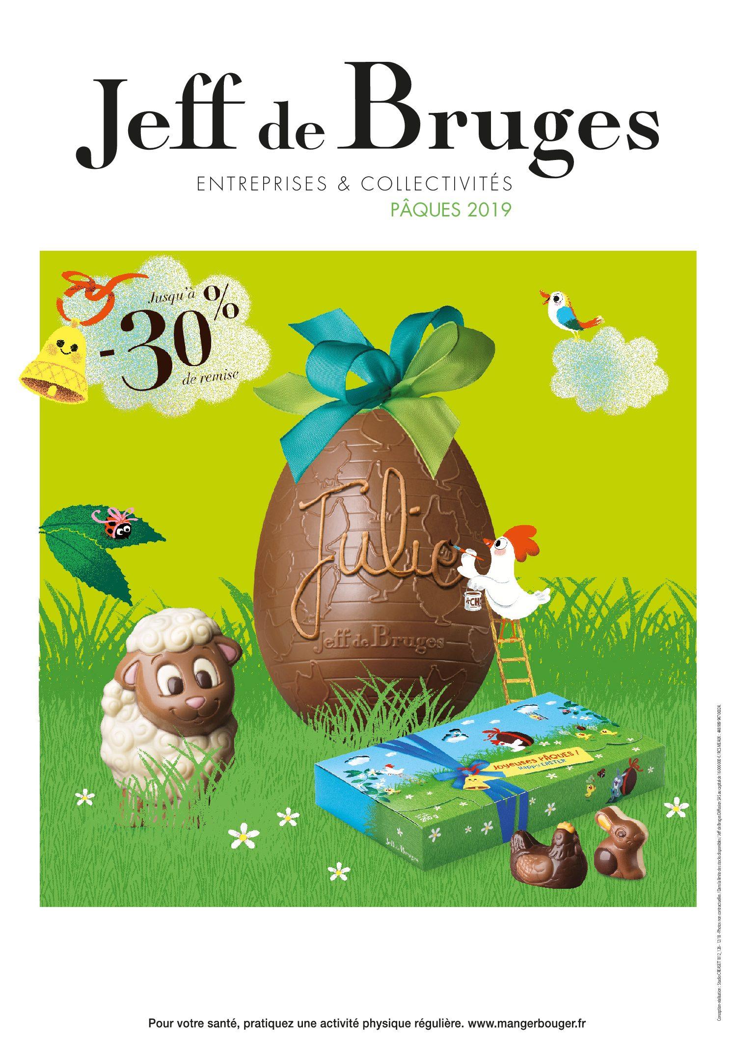 Fêtez Pâques avec des chocolats